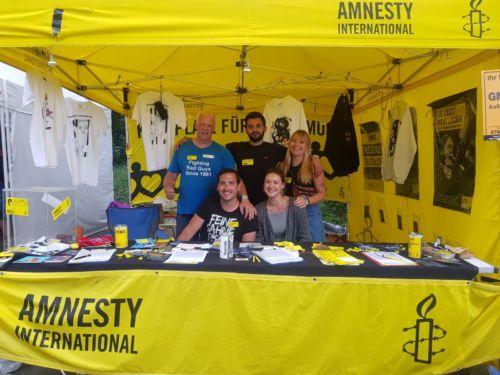 Amnestystand auf Rock im Park